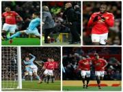 """Derby MU - Man City: Lukaku sai lầm,  """" người nhện """"  siêu đẳng"""