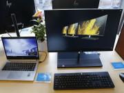 HP tung dòng máy tính để bàn AIO với tùy chọn màn hình cong, 4K