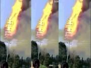 Tháp gỗ cao nhất châu Á cháy rừng rực trong biển lửa