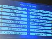 Bóng đá - Bốc thăm vòng 1/8 cúp C1: MU gặp may, Real gặp PSG, Chelsea tử chiến Barca