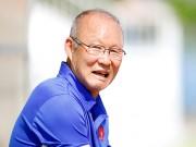 """Bóng đá - U23 Việt Nam: HLV Park Hang Seo """"say nắng"""" với học trò"""