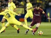 """Chi tiết Villarreal - Barcelona: Messi  """" nổ súng """"  (KT)"""