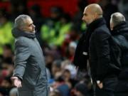 """MU thua derby: Mourinho xỉa xói trọng tài,  """" đầu hàng """"  Man City"""