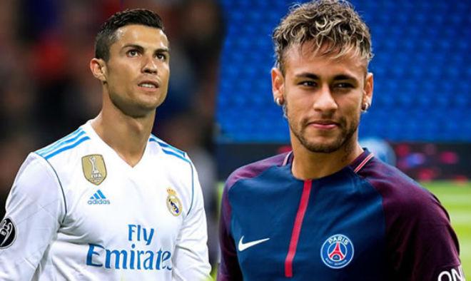 """Real đấu PSG: Neymar quyết hạ bệ Ronaldo, chiếm """"ngai vàng"""" cúp C1 - 2"""