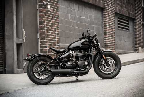 Triumph Bonneville Bobber Black sẽ có giá từ 353 triệu đồng - 1