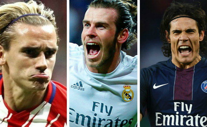 Mourinho nổi điên, MU hụt 3 sao bự: Tháng 1 mua Cavani, Bale, Griezmann? 3