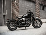 Thế giới xe - Triumph Bonneville Bobber Black sẽ có giá từ 353 triệu đồng
