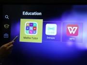 Công nghệ thông tin - Máy chiếu chống bụi và màn hình kháng khuẩn đầu tiên trên TG