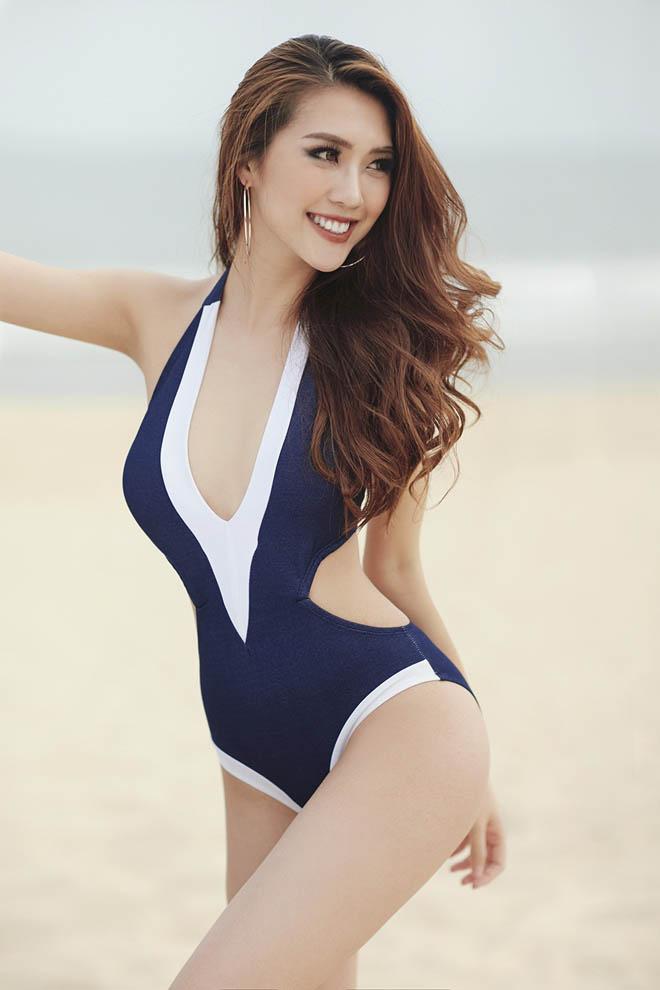 Eo chỉ 55cm, còn ai mặc bikini sexy hơn hoa hậu Việt này? - 9