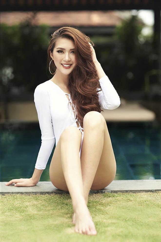 Eo chỉ 55cm, còn ai mặc bikini sexy hơn hoa hậu Việt này? - 12