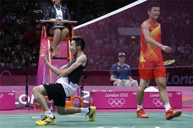 """Cầu lông triệu đô: Lee Chong Wei thăng hoa, Chen Long """"tháo chạy"""" 1"""