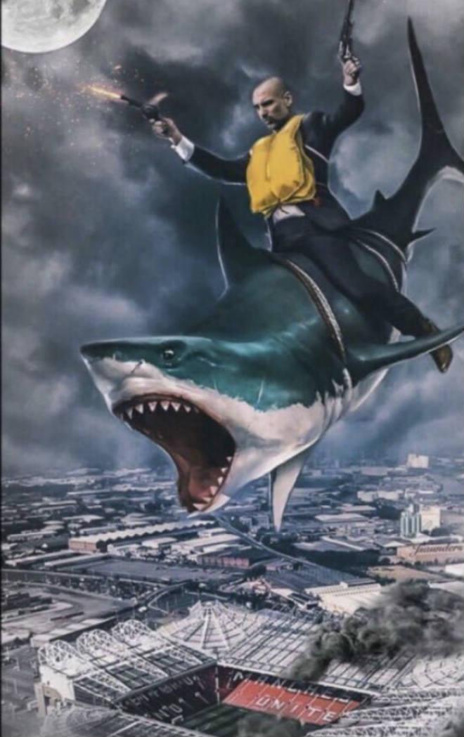 Man City thắng trận 15: Pep cưỡi cá mập, hủy diệt Ngoại hạng Anh 4
