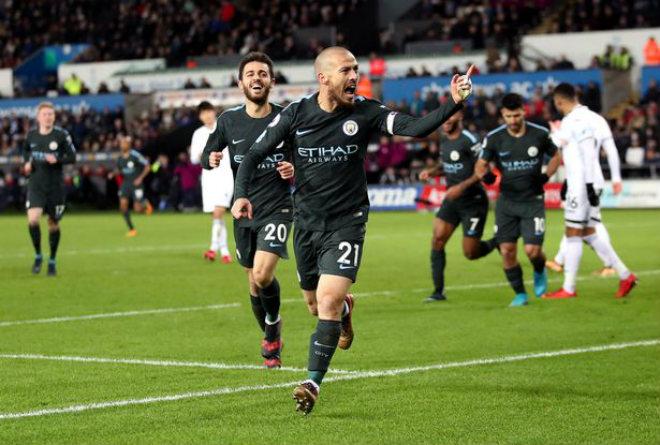 Man City thắng trận 15: Pep cưỡi cá mập, hủy diệt Ngoại hạng Anh 1