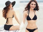 Thời trang - Eo chỉ 55cm, còn ai mặc bikini đẹp hơn hoa hậu Việt này?
