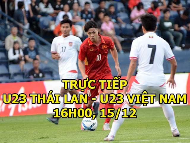 U23 Thái Lan - U23 Việt Nam: Công Phượng đánh đầu hiểm hóc, nã đạn sấm sét 2