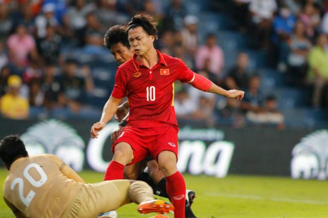 U23 Thái Lan - U23 Việt Nam: Công Phượng đánh đầu hiểm hóc, nã đạn sấm sét 1