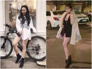 Thời trang - Các nữ DJ Việt lăng xê thời trang áo trùm quần ra phố