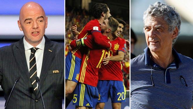 NÓNG: FIFA dọa đuổi Tây Ban Nha khỏi World Cup, mời Italia