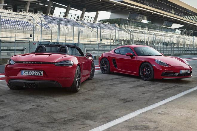 Porsche 718 GTS 2018 có giá từ 1,81 tỷ đồng - 4