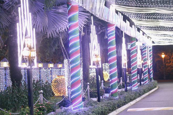 """Giáng sinh ở Sài Gòn: """"Lạc lối"""" ở 2 khu phố nhà giàu - 4"""