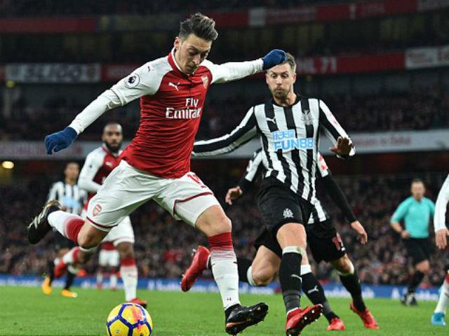 Arsenal - Newcastle: Vô-lê đẳng cấp, 90 phút mãn nhãn