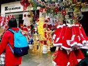 Thị trường - Tiêu dùng - Đồ trang trí Noel giá tiền triệu hút khách