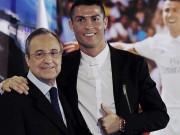"""Bóng đá - Ronaldo – Real rạn nứt: Làm hỏng vụ Mbappe, bị """"Bố già"""" tống tiền"""