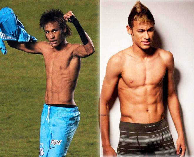 Neymar thoát kiếp ốm o, gầy nhom thành mỹ nam cơ bắp nhờ đâu?