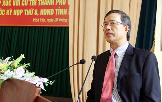 Kỷ luật cách chức Bí thư Vĩnh Phúc nhiệm kỳ 2010 - 2015 - 1