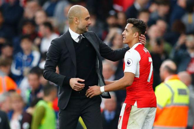 """MU tậu Ozil giá """"rẻ như cho"""", Sanchez tái hợp Pep: Arsenal tan nát - 2"""