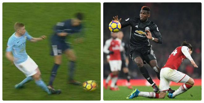 """""""Chặt chém"""" rợn người như Pogba, SAO Tottenham vẫn thoát thẻ đỏ 1"""