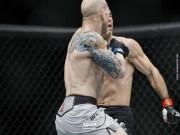 """Thể thao - Siêu phẩm UFC: """"Đầu gấu"""" ăn đòn, nằm im như thóc"""