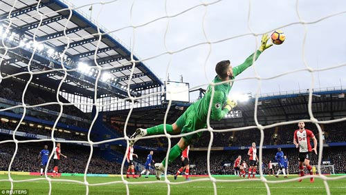 Chi  tiết Chelsea - Southampton: Khách vùng lên, chủ lúng túng (KT) 23