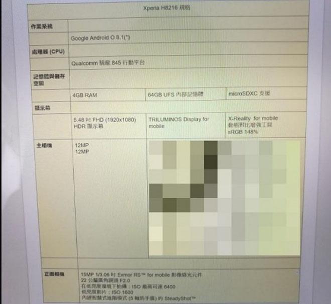 Xperia XZ1 thiết kế đẹp, dùng chip khủng Snapdragon 845 - 2