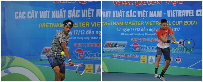 Giải tennis các cây vợt xuất sắc Việt Nam: Hạt giống số 1 gây sốc 2