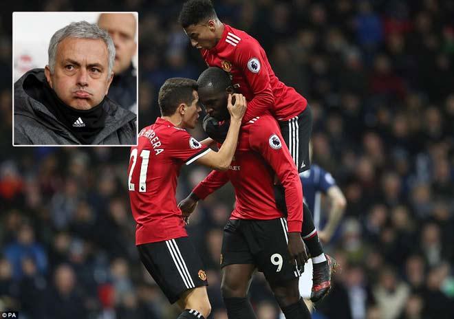 Lukaku hay nhất trận, MU-Mourinho chưa đầu hàng Man City