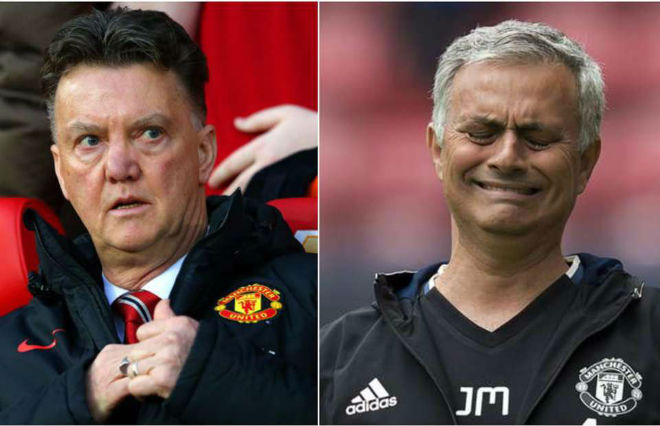 """MU-Mourinho """"lưỡng đầu thọ địch"""": Van Gaal tái xuất, hẹn báo thù 1"""