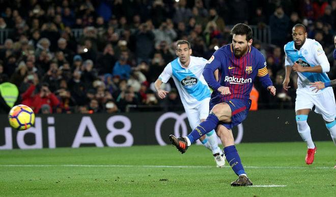 """Messi tịt ngòi, """"xịt"""" 11m: Viên đạn bọc đường đấu Real siêu kinh điển - 1"""