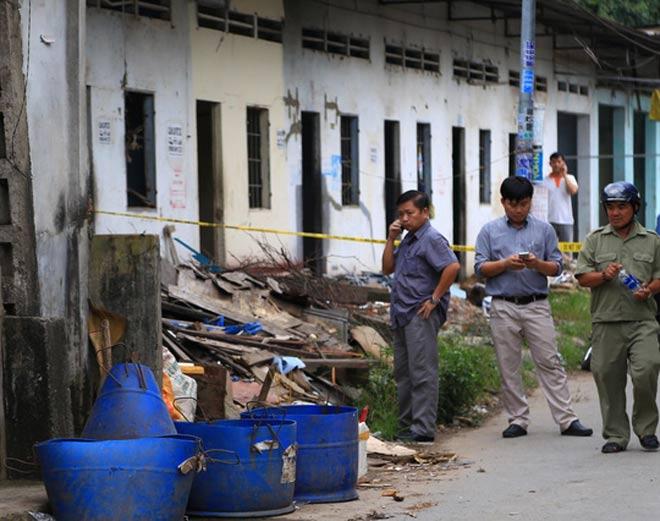 NÓNG: Đã bắt được hung thủ chặt đầu người bỏ thùng rác - 1