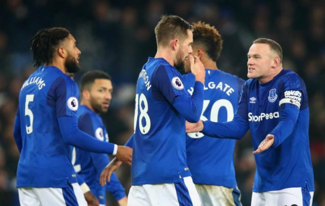 Everton - Swansea: Bừng bừng cơn giận hiệp 2 1