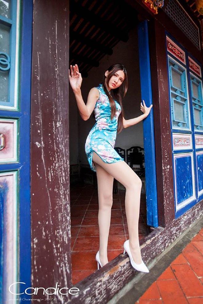 Ngắm không rời mắt hot girl chân dài mét mốt - 13