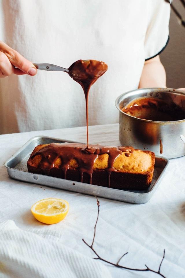 Cách làm bánh khúc cây đẹp mê ly đón Giáng sinh - 15