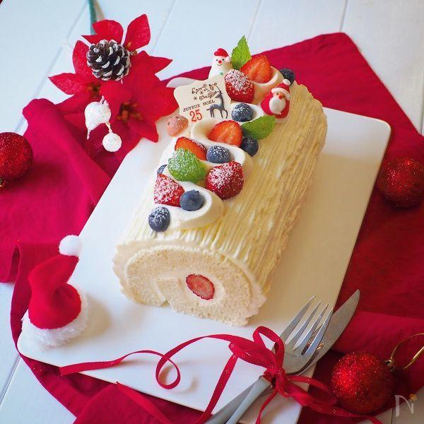 Cách làm bánh khúc cây đẹp mê ly đón Giáng sinh - 17