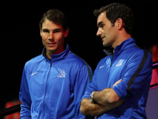 Ăn mừng độc nhất vô nhị tennis 2017: Federer, Nadal nấc nghẹn 1