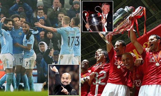 MU 2008 - Ronaldo và Man City 2017 - De Bruyne: Ai hùng bá hơn? 1