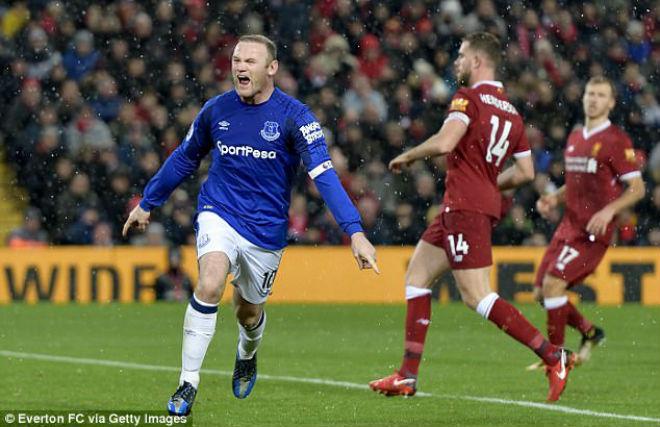 """Rooney """"bung lụa"""" ghi bàn: MU – Mourinho có tiếc khi """"đổi"""" Lukaku? 2"""
