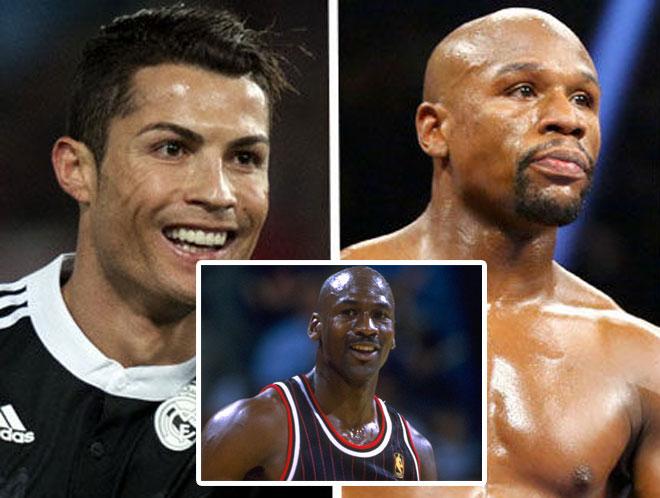 """Siêu VĐV 54 tuổi """"tiền hàng tải"""": Mayweather, Ronaldo phải """"khóc thét"""" 1"""