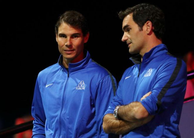 Đại chiến tennis 2018: Nadal về phe Federer đấu liên minh Djokovic 1