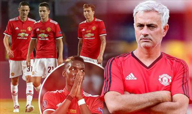 """MU bất lực bám Man City: """"Phép thuật"""" Mourinho mùa hai đã hết 2"""