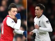 """Bóng đá - Bàn thắng đẹp Ngoại hạng Anh V18: Ozil vô-lê """"thần sầu"""", Coutinho solo ảo diệu"""